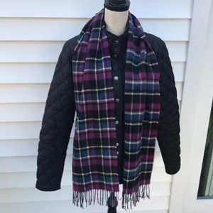 Cashmere scarf made in Scotland very beautiful